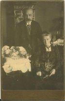 Adolf Inffeld mit Frau